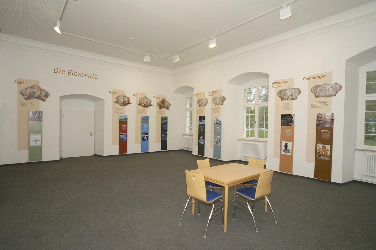 Der Caspar-Mohr-Raum im Museum Kloster Schussenried; Foto: Landesmuseum Württemberg