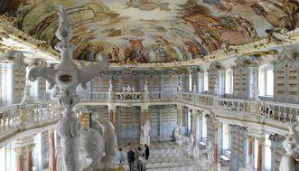 Bibliothekssaal von Kloster Schussenried
