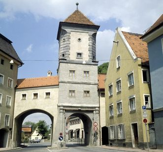 Das Sandauer Tor in Landsberg am Lech