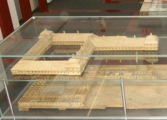 Kloster mit Wirtschaftsgebäuden, Modell von Jakob Emele um 1760; Foto: Landesmuseum Württemberg
