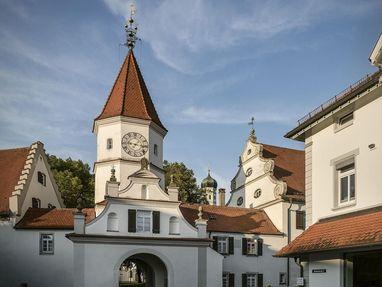 Kloster Schussenried, Eingang in das Kloster