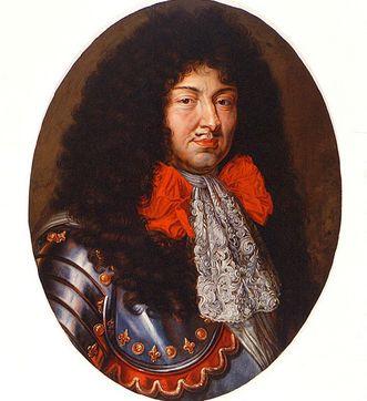 Bildnis von König Ludwig XIV. von Frankreich, Ölgemälde um 1670; Foto: Staatliche Schlösser und Gärten Baden-Württemberg, Arnim Weischer