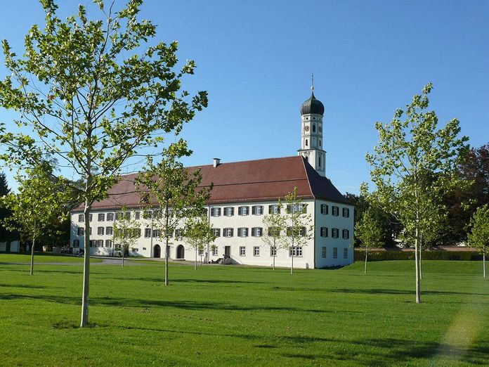 Schussenried monastery, view of the old convent